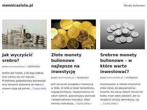 Mennicazlota.pl - złote monety i sztabki