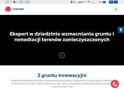 Menard Polska Sp. z o.o. geotechnika