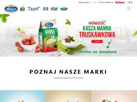 Melvit.pl - producent płatków zbożowych