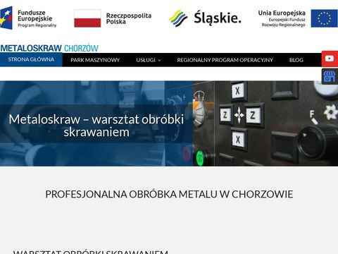 Metaloskraw.pl obróbka metalu