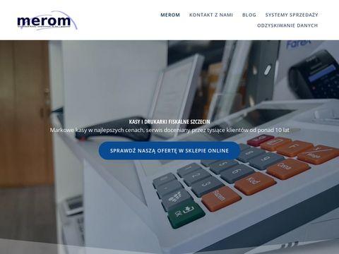 Merom Szczecin kasy fiskalne