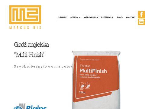 Mercusbis.pl skład budowlany Kraków