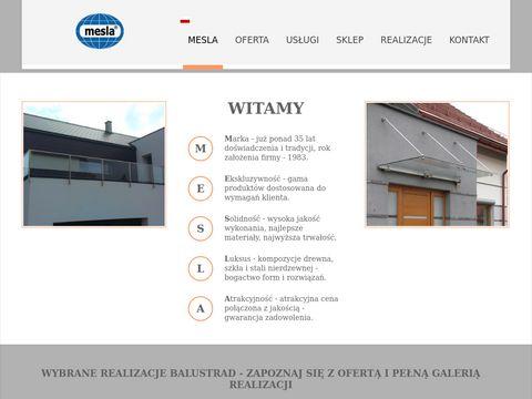 Mesla.pl najlepsze balustrady Nowy Sącz