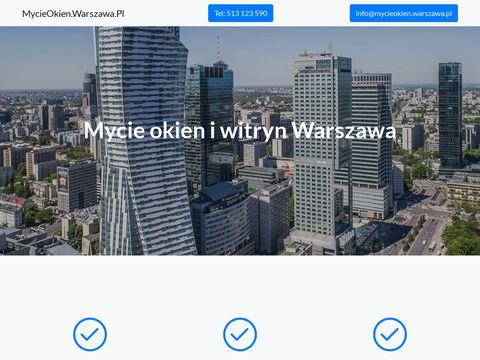 Mycieokien.warszawa.pl biurowych i mieszkaniowych