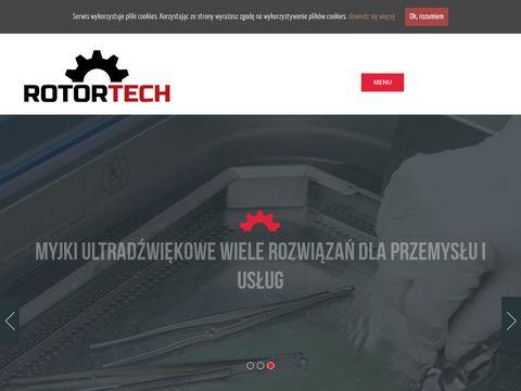Rotortech Sp. z o.o. myj ultradźwiękiem