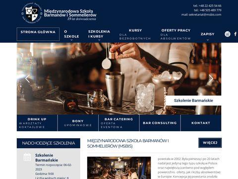 Msbis.com barman Warszawa