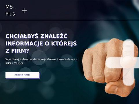 MS plus odzież robocza Poznań