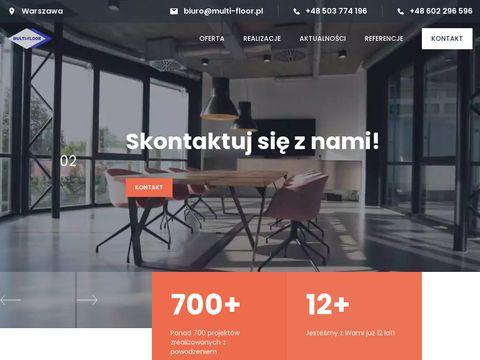 Multi-Floor powłoki żywiczne Warszawa