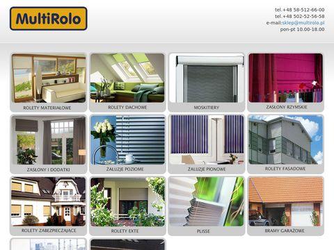 Multirolo.pl rolety Gdynia