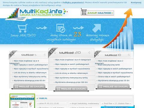 Zadbane katalogi Multikod.info
