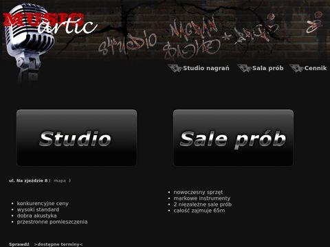 Musicartic.pl Studio nagrań Kraków