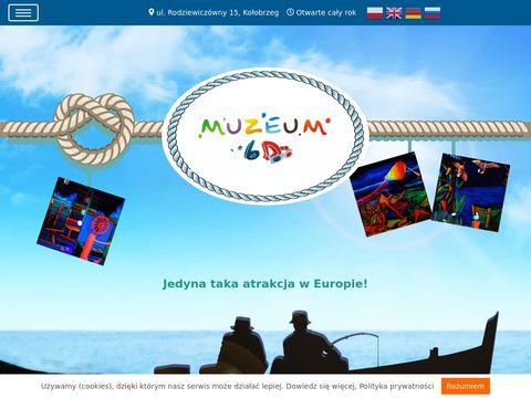 Muzeum6d.pl - muzeum dla dzieci Kołobrzeg