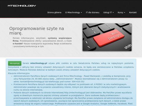 Mtechnology - usługi IT