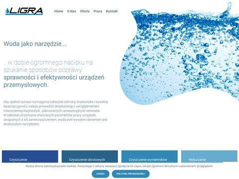 Ligra - czyszczenie hydrodynamiczne
