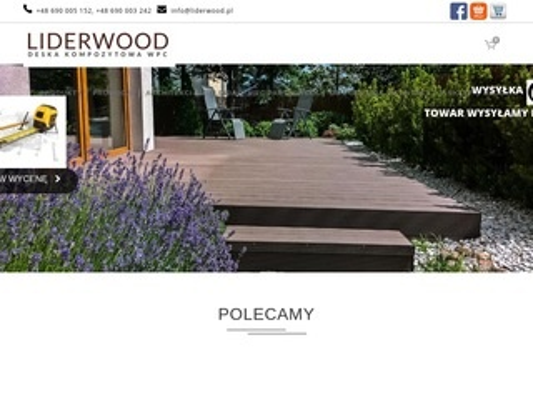 Liderwood.pl deska kompozytowa