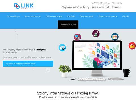 Linkprojekt.pl - strony internetowe Poznań