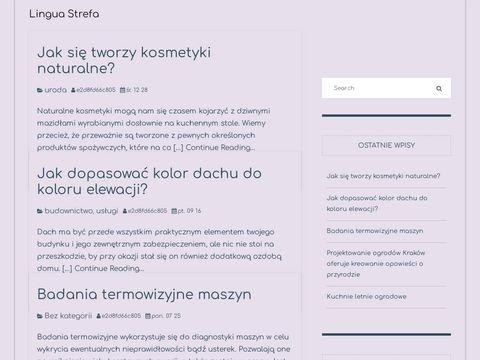 Linguastrefa.pl angielski lekcje indywidualne