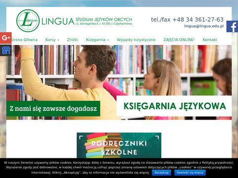 Lingua.edu.pl szkoła języków obcych