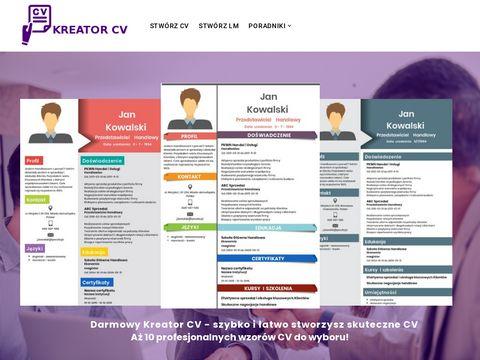List-motywacyjny.pl kreator CV