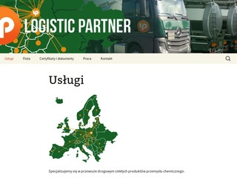 Logistic Partner przewozy kabotażowe
