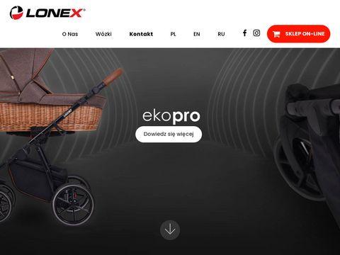 Lonex tanie wózki dziecięce od producenta