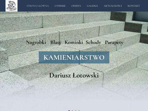 Łotowski Dariusz nagrobki Białystok