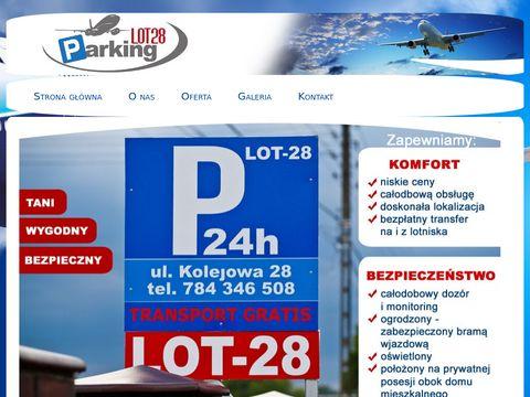 Lot28.pl dowieziemy na lotnisko Pyrzowice