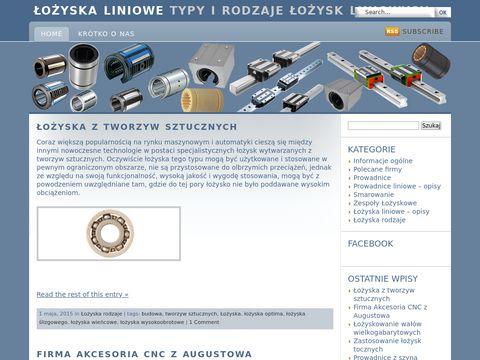 Lozyska-liniowe.com.pl budowa