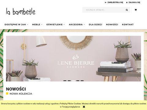 La Bambetle meble design