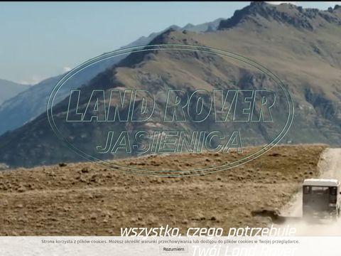 Landroverjasienica.pl autoserwis, części zamienne