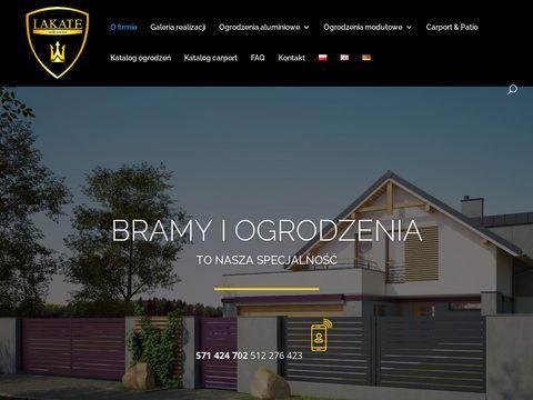 Lakate.pl producent ogrodzeń