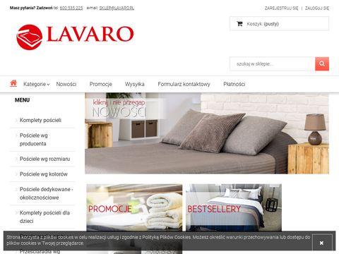 Lavaro.pl - sklep internetowy z pościelami