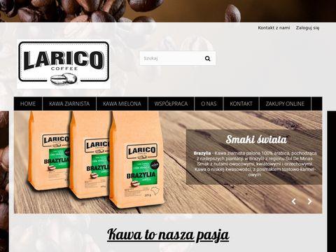 Larico.pl kawa mielona sklep internetowy