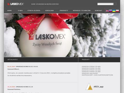 Laskomex PPUH domofony cyfrowe