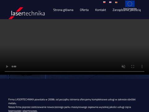 Lasertechnika.pl cięcie plazmowe