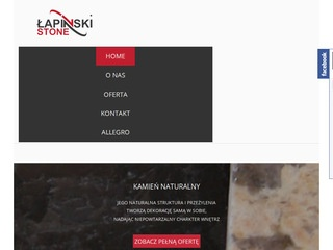 Lapinski-stone.pl - kamień elewacyjny wewnętrzny
