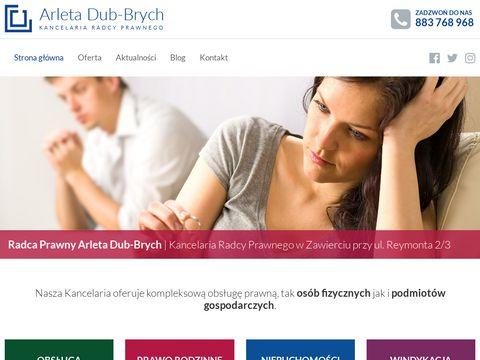 Legeartis-kancelaria.pl radca Prawny Zawiercie