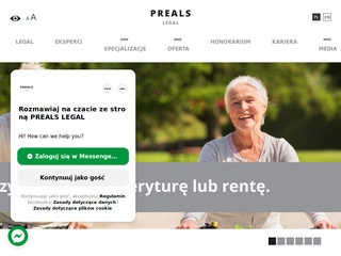 Legal.preals.pl prawnik Warszawa