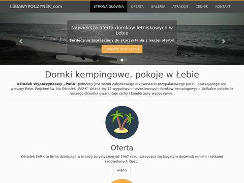 Lebawypoczynek.com Łeba domki