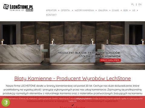 Lechstone.pl parapety blaty kuchenne