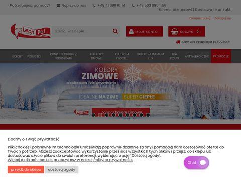 Lech-pol.eu kołdry puchowe