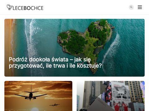 Lecebochce.pl - blog podróżniczy
