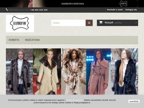 Leather4you.pl - kurtki skórzane damskie