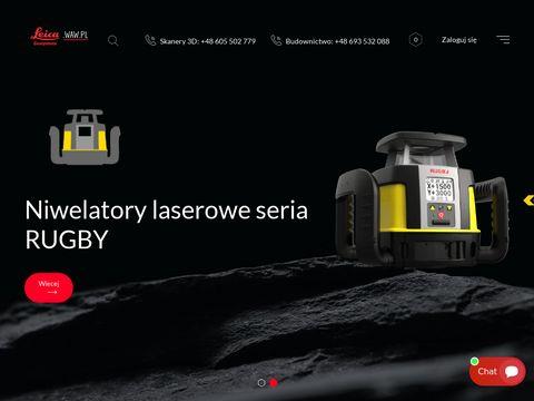 Leica.waw.pl statyw do lasera