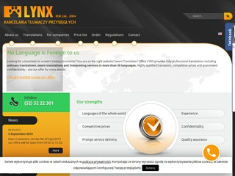 Biuro tłumaczeń Lynx tłumaczenia zwykłe