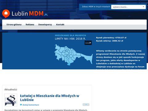 Lublinmdm.pl - mieszkanie dla młodych