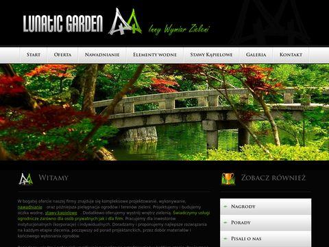 Lunaticgarden.pl projektowanie zakładanie ogrodów