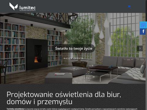 Lumitec.net.pl oświetlenie biur Kraków
