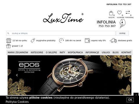 Luxtime.pl - zegarki damskie i męskie