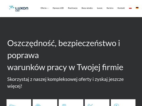 Luxon.pl LED - oświetlenie przemysłowe